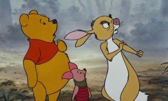 pooh, piglet, rabbit
